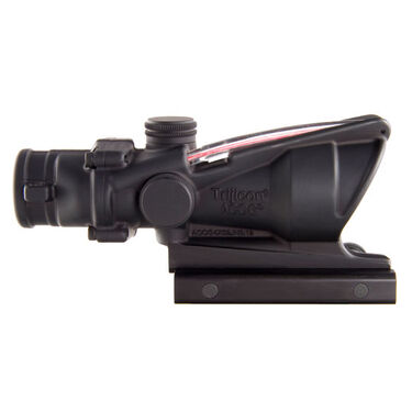 Trijicon ACOG Sight, 4x32, Dual-Illuminated Red Chevron .223 Ballistic Reticle