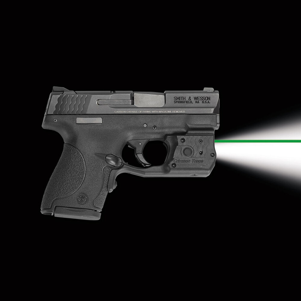 Crimson Trace LL-801G Green Laserguard Pro for S&W 9mm/ 40 M&P Shield & M2 0