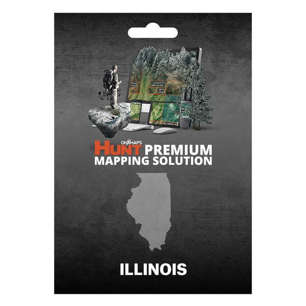 onXmaps HUNT GPS Chip for Garmin Units + 1-Year Premium Membership, Illinois