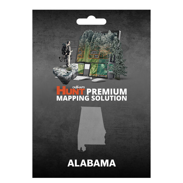 onXmaps HUNT GPS Chip for Garmin Units + 1-Year Premium Membership, Alabama