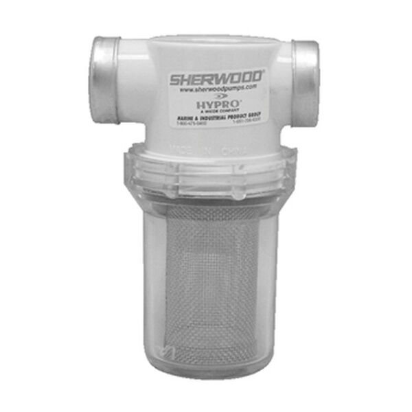 "Sherwood Sea Water Strainer, 1-1/2"" Port Size"