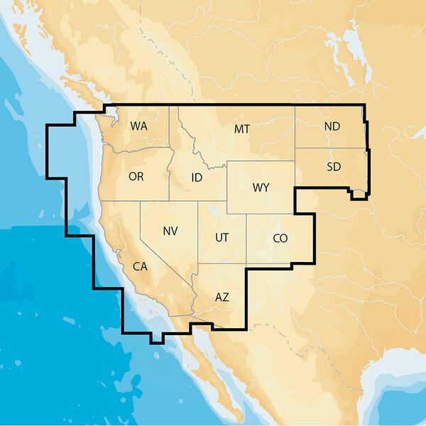 Navionics Electronic Chart, West US