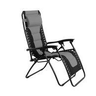 Padded Zero Gravity Chair, Gray
