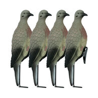 Lucky Duck Clip-On Doves with Stakes, 4-Pack