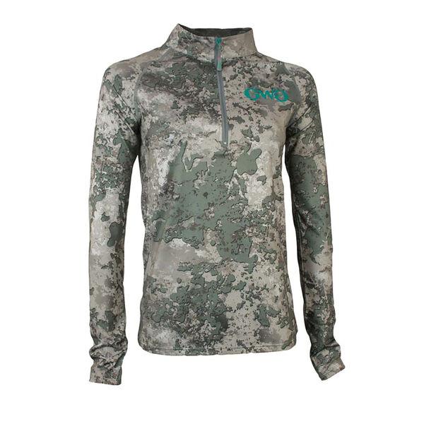Girls With Guns Stalker Quarter-Zip Pullover