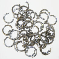 """Clinching Rings Large 50 Rings fit 3/8"""" to 1/2"""" cord"""
