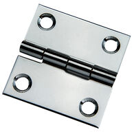 "Whitecap Stamped Stainless Steel Butt Hinge, 2"" x 2"""