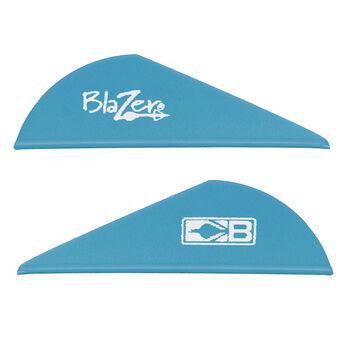 "Bohning 2"" Blazer Vanes, Satin Blue, 36-Pack"