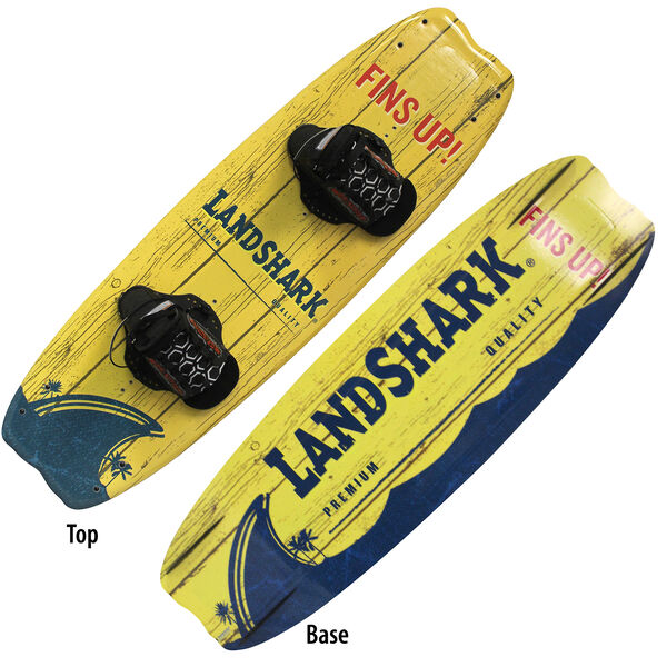 Hydroslide Landshark Wakeboard With Chaser Bindings