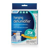 Hanging Moisture Absorber, 2-pack