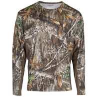 Habit Men's Performance Long-Sleeve Tee – Realtree Edge Camo