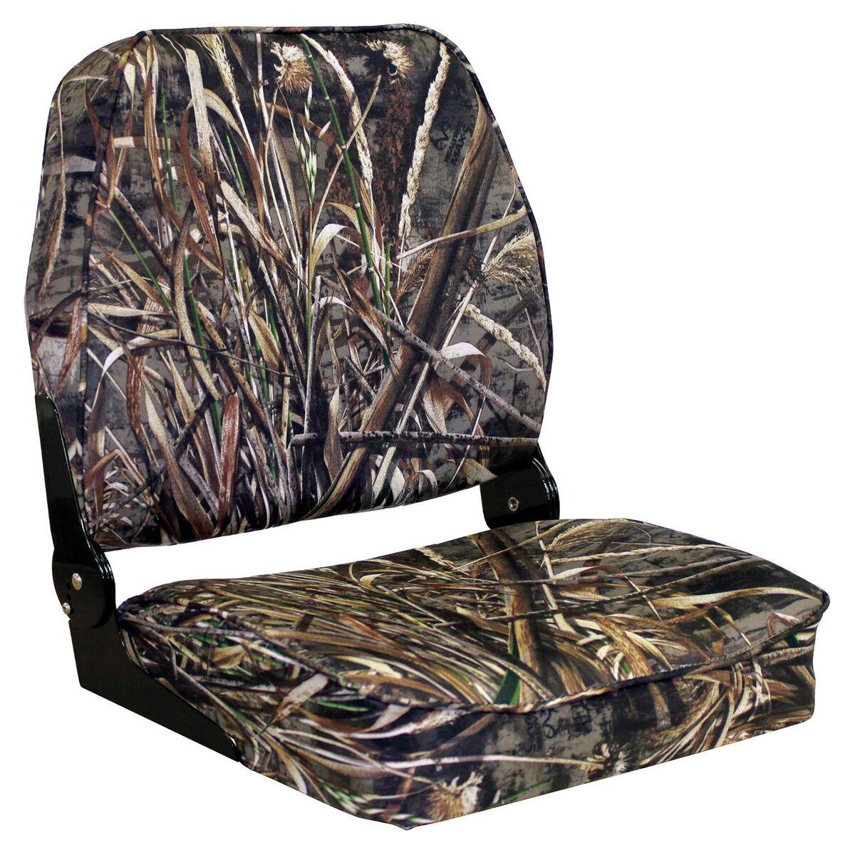 Wise Camo Big Man Hunting//Fishing Fold Down Boat Seat
