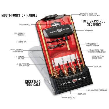 Real Avid Gun Boss Pro Handgun Cleaning Kit