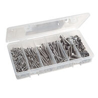 Combination Stainless Fastener Kit, 328 pieces