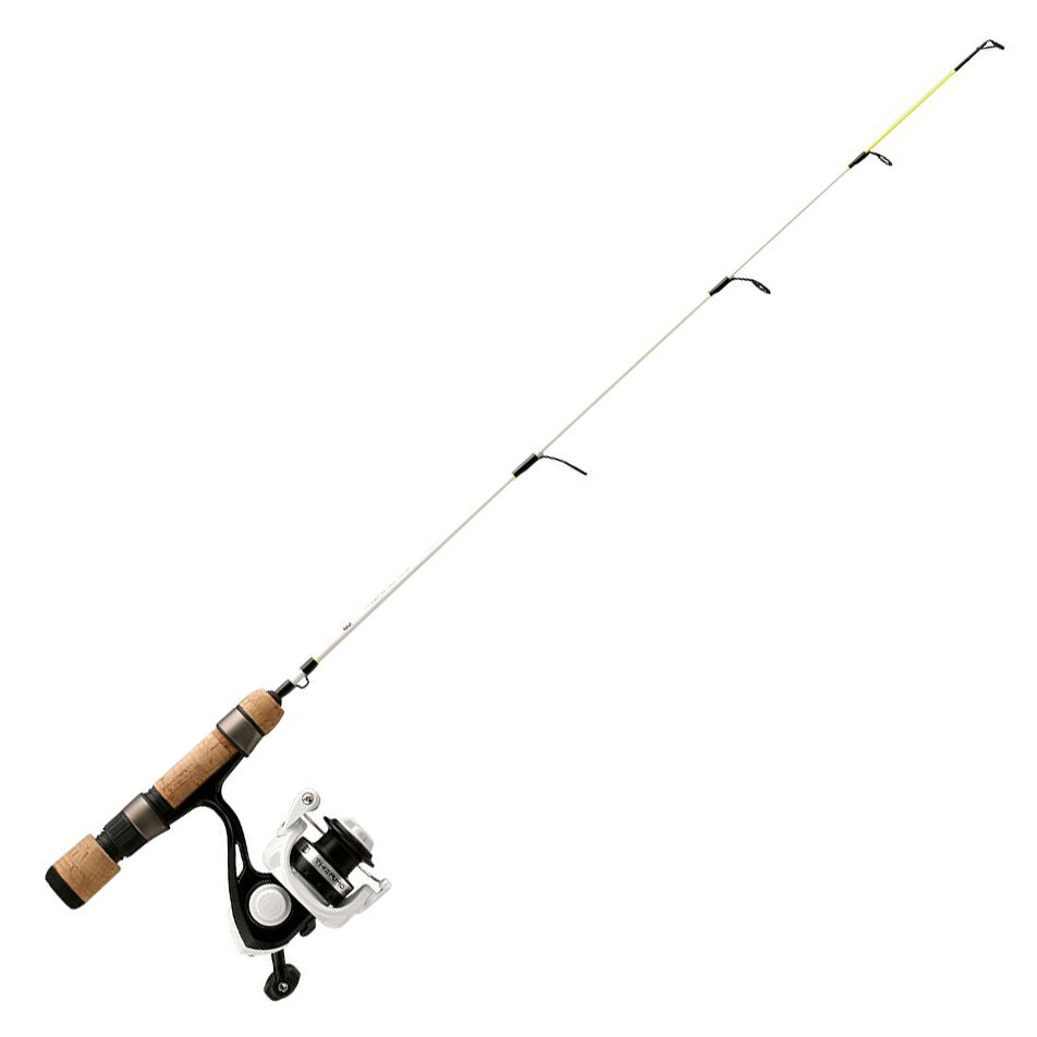 "NEW! 27"" Medium Light Action Abu Garcia Veritas 2.0 Ice Fishing Spinning Rod"