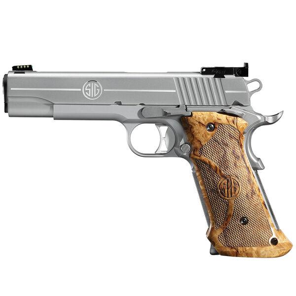 SIG Sauer 1911 Stainless Super Target Handgun