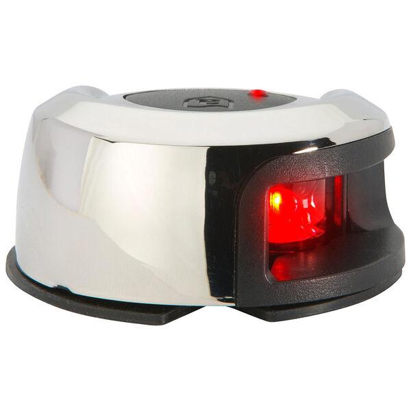 Attwood LightArmor Deck Mount 2NM LED Port Nav Light - Red
