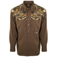 Drake Waterfowl Men's EST Camo Flyweight Wingshooter's Long-Sleeve Shirt