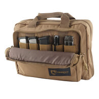Drago Double Pistol Case, Tan