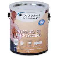 Dicor Fiberglass RV Roof Coating, Gallon