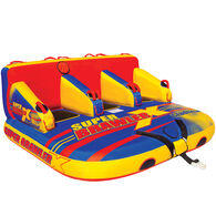 Gladiator Super Brawler X 3-Person Towable Tube