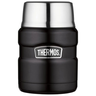 Thermos Stainless King 16-Oz. Vacuum-Insulated Stainless Steel Food Jar