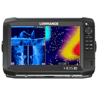 Lowrance HDS-9 Carbon Fishfinder Chartplotter w/TotalScan Transducer