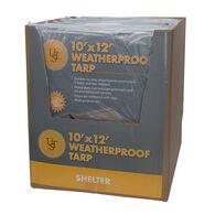 Ultimate Survival Technologies Weatherproof Tarp, 10' x 12'