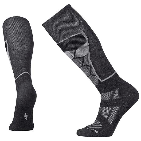 SmartWool Men's PhD Ski Medium Pattern Socks, Black
