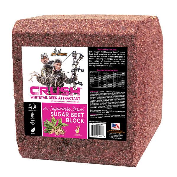Ani-Logics Crush Sugar Beet Block, 20 lbs.