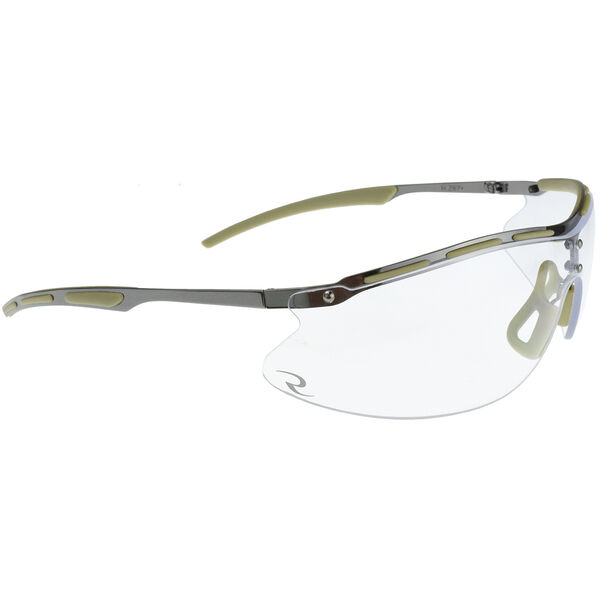 Radians Bravo CSB101-BX Series Tactical Shooting Glasses, Clear