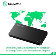 GlocalMe U3 SIM-Free Portable Mobile WiFi Hotspot, Black