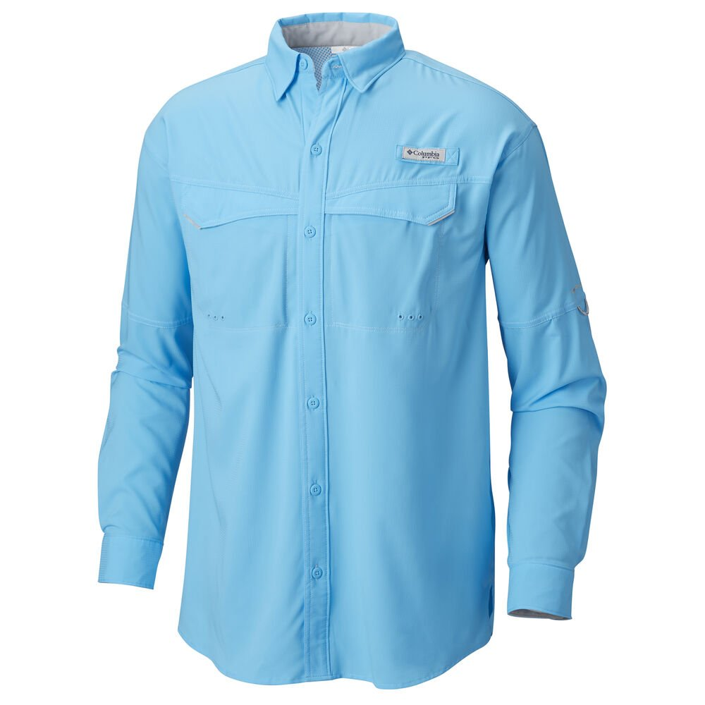 480545549a6 Columbia Men's PFG Low Drag Offshore Long-Sleeve Shirt | Gander Outdoors