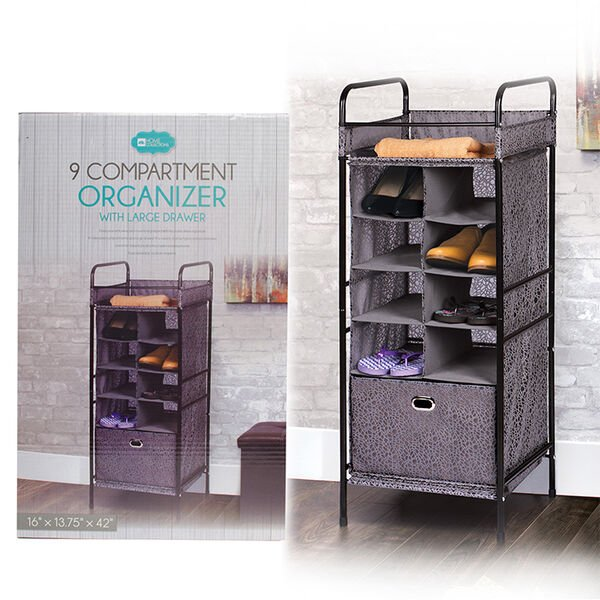 Home Collections 9-Compartment Organizer