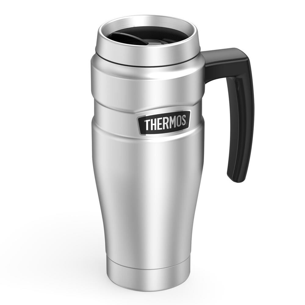dd35e59a953 Thermos Stainless King 16-Oz. Vacuum-Insulated Stainless Steel Travel Mug