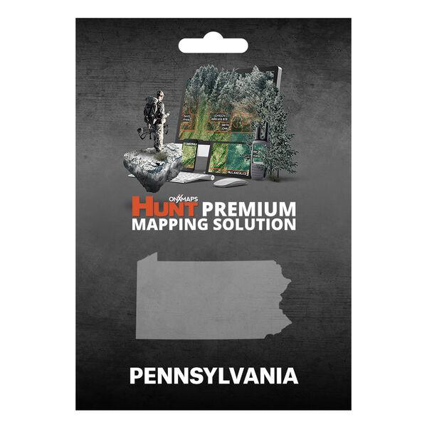 onXmaps HUNT GPS Chip for Garmin Units + 1-Year Premium Membership, Pennsylvania