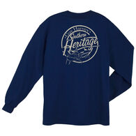 Guy Harvey Women's Southern Heritage Pocketed Long-Sleeve Tee