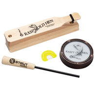 H.S. Strut Raspy Old Hen Turkey Call Combo