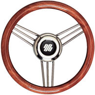 UFlex 3-Spoke Non-Magnetic Stainless Steel Steering Wheel