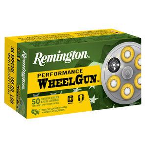 Remington Performance WheelGun Ammunition, .38 S&W, 685-gr., LRN