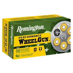 Remington Performance WheelGun Ammunition, .44 S&W Spl., 246-gr., LRN