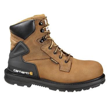 Carhartt CORE Men's 6-Inch Bison Brown Waterproof Work Boot