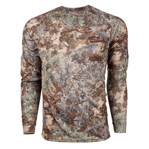 King's Camo Men's Hunter Series Long-Sleeve Tee