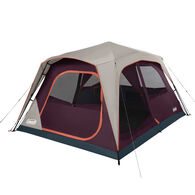 Coleman Skylodge 8-Person Instant Camping Tent, Blackberry