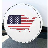 Elements Spare Tire Cover, Flag, 29.75""