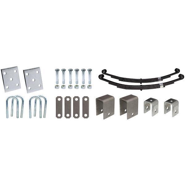 """Tie-Down 2-3/8"""" Single Axle Installation Kit"""