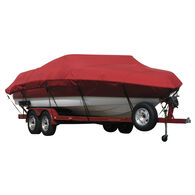 Exact Fit Covermate Sunbrella Boat Cover for Magic 34 Sorcerer  34 Sorcerer I/O. Red