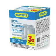 HUMYDRY Moisture Absorber Refills, 3 - 8.8-oz. packs