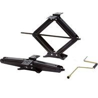"Stromberg Carlson 24"" Scissor Jacks - Two Jacks with Handle"