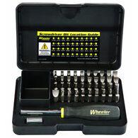 Wheeler Engineering Professional Gunsmithing Screwdriver Set, 43-Pc.